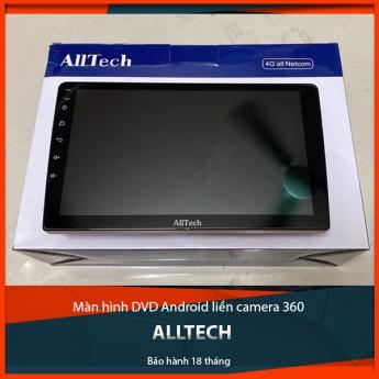 """Màn hình DVD Android tích hợp camera 360 Alltech - """"Siêu phẩm"""" thời công nghệ 4.0"""