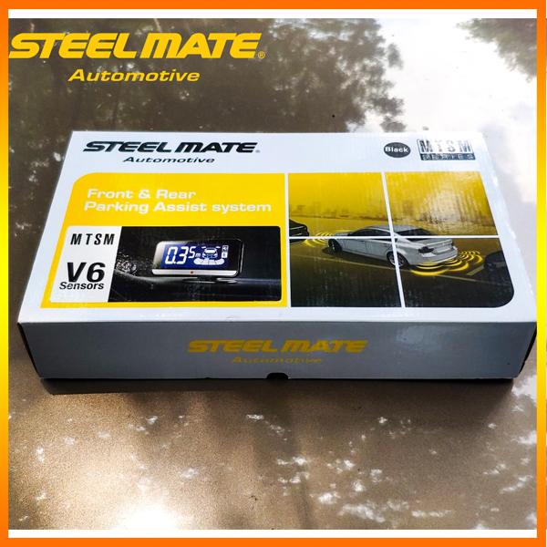 Cảm biến lùi Steelmate 6 mắt cho ô tô chính hãng Steelmate Việt Nam