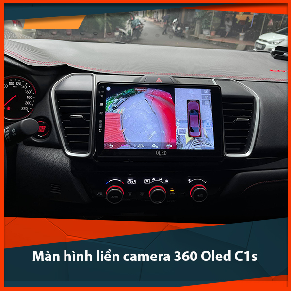 Màn hình liền camera 360 Oled C1s - Màn hình quốc dân