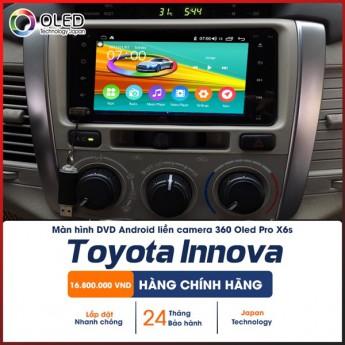 Màn hình liền camera 360 X6s cho Toyota Innova