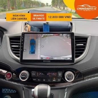 Màn hình DVD Android tích hợp camera 360 Bravigo Ultimate mạnh mẽ cho mọi dòng xe