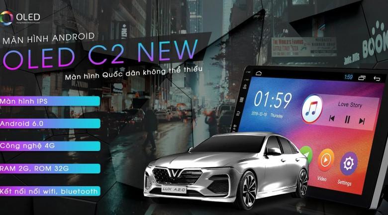 Màn hình DVD Android Oled C2 new - Chiếc màn hình quốc dân, phù hợp cho mọi đối tượng tính năng 1