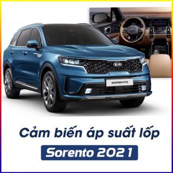 Lắp cảm biến áp suất lốp cho Sorento 2021 - Mọi hành trình đều an toàn