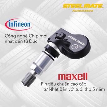 Cảm biến áp suất lốp TPMS STeelmate MT-11
