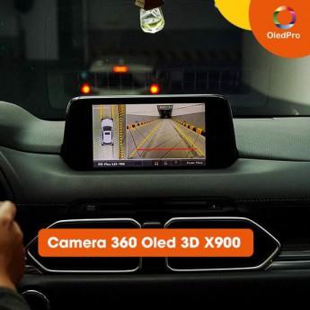 """Camera 360 Oled 3D X900 - """"Siêu phẩm"""" từ công nghệ 3D với 12 góc hình giúp lái xe an toàn"""