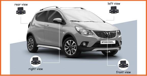 Độ màn hình liền camera 360 cho xe Vinfast Fadil - Đảm bảo an toàn trên mỗi cung đường