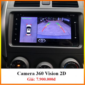 Camera 360 Vision 2D - Đứng đầu top camera tầm trung