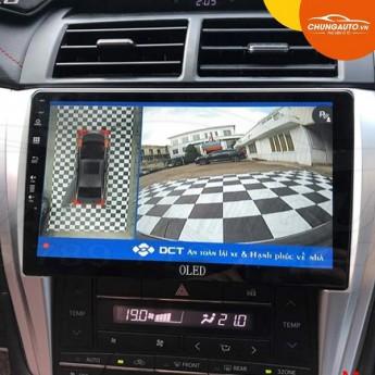Trải nghiệm lái xe siêu an toàn với Camera 360 DCT