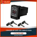 Cảm biến áp suất lốp Careud - Phụ kiện gắn nút chờ sẵn theo xe tiện ích nhất_0