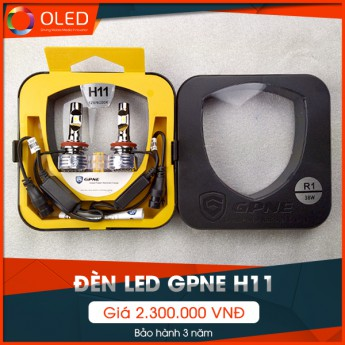 Đèn led GPNE H11 - Giải pháp cải thiện ánh sáng hoàn hảo