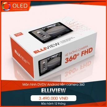 Đánh giá màn hình DVD Android tích hợp camera 360 Elliview
