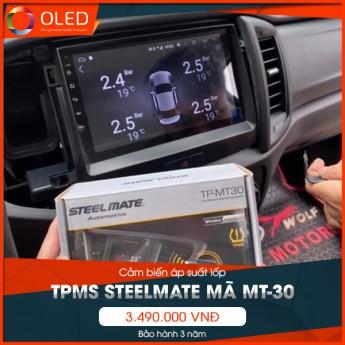 Cảm biến áp suất lốp TPMS Steelmate mã MT-30 duy nhất tại thị trường Việt Nam