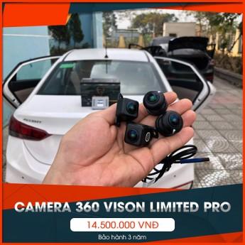 Camera 360 Vision phiên bản cao cấp nhất Limited Pro - Đẳng cấp camera 360 Vision