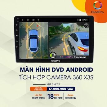 Màn Hình DVD Android OLEDPRO X3s Tích hợp Camera 360 toàn cảnh phiên bản mới nhất 2021