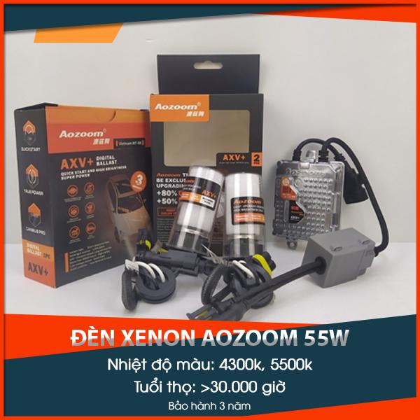 Đèn xenon Aozoom 55W chính hãng, giá tốt