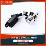 Độ đèn led GPNE tăng sáng chân H4 giúp lái xe an toàn hơn_0