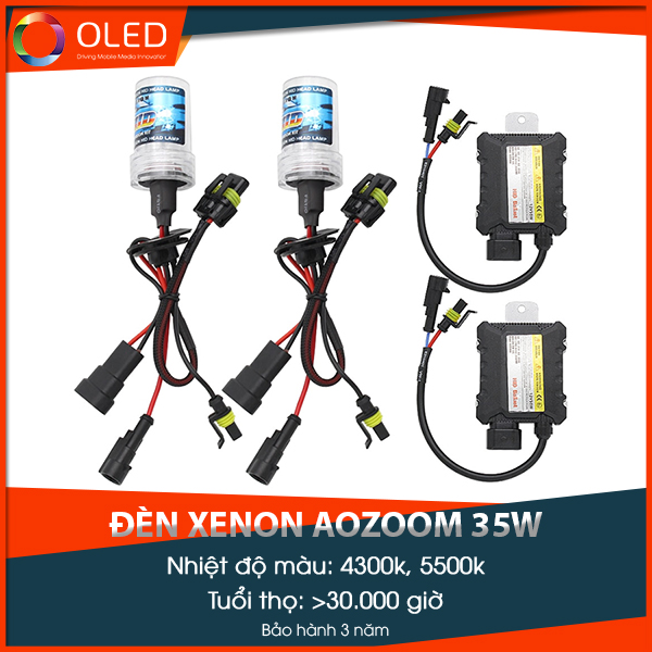 Bóng đèn xenon Aozoom 35w chính hãng
