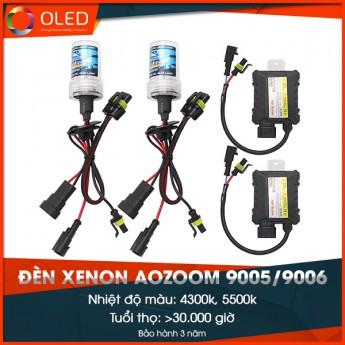 Đèn Xenon Aozoom 9005/9006 35w 4300k/ 5500k chính hãng