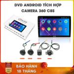 """Màn hình DVD Android tích hợp camera 360 Oled C8s cho xe Toyota Corolla Cross – """"Siêu phẩm 2020"""" nhờ tích hợp ALL IN ONE – Tất cả trong một_1"""