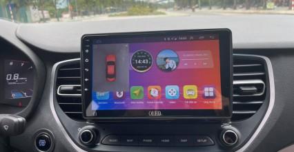 Độ màn hình Android Oled cho xe Huyndai Acent - Màn hình sang trọng, nâng tầm đẳng cấp