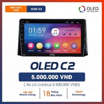 """Màn hình Android Oled C2 9 inch - màn hình giá rẻ tính năng """"xịn"""" cho ô tô"""