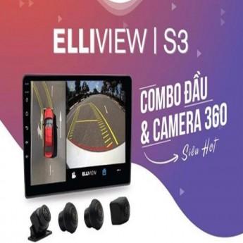 Màn hình liền camera 360 độ Elliview I S3 cùng những tính năng thú vị