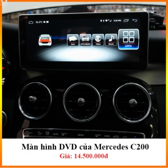 Màn hình DVD Android xe Mercedes C200