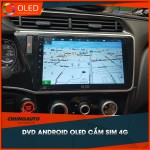 DVD Android OLED Cắm Sim 4G Lắp Cho Tất Cả Các Dòng Xe_0