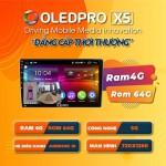 Màn hình DVD Android Oled X5 new cho Honda CRV_0