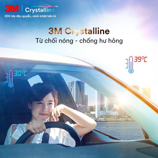 Tổng hợp các gói độ phim cách nhiệt 3M Crystalline cao cấp