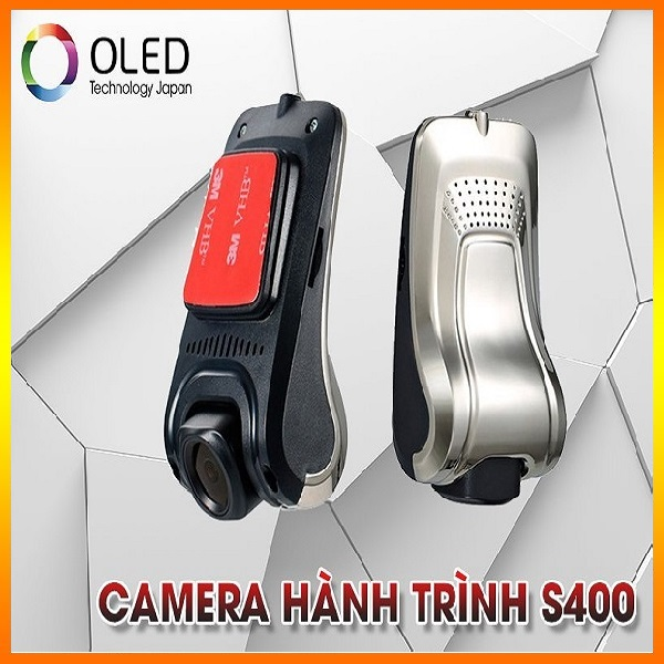 Camera hành trình thế hệ mới Oled S400 cho mọi dòng xe