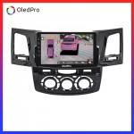 Màn Hình Dvd Android Oled Pro X3s Tặng Camera 360 trên xe Toyota Fortuner 2010-2015 Điều hòa cơ X3s_0