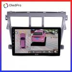 DVD Android tặng camera 360 Oled C8s  cho Toyota Vios2008-2012- Quan sát toàn cảnh, hạn chế va chạm, lái xe an toàn C8s_0
