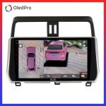 DVD Android tặng camera 360 Oled C8s  cho Toyota Prado-Prado-2018-2019- Quan sát toàn cảnh, hạn chế va chạm, lái xe an toàn C8s_0
