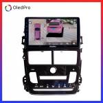 Màn hình DVD Android xe Toyota Vios 2019 Điều hòa tự động OledPro X5s tích hợp Camera 360 quan sát toàn cảnh phiên bản 2020 X5s_0