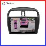 Màn Hình Dvd Android Oled Pro X3s Tặng Camera 360 trên xe Mitsubishi Attrage Mirage X3s_0