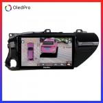 Màn Hình Dvd Android Oled Pro X3s Tặng Camera 360 trên xe Toyota Hilux 2016-2018 X3s_0