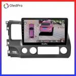 Màn hình DVD Android xe Honda Civic 2007-2012 Oledpro X5s tích hợp Camera 360 quan sát toàn cảnh phiên bản 2020 X5s_0