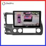 Dvd Android Oled C8S công nghệ mới trên xe Honda Civic 2008-2012 || Tặng Camera 360 qan sát toàn cảnh_0