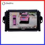 Màn hình DVD Android xe Toyota Fortuner 2016-2018 OledPro X5s tích hợp Camera 360 quan sát toàn cảnh phiên bản 2020 X5s_0