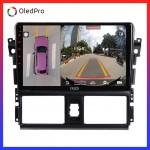 DVD Android tặng camera 360 Oled C8s  cho Toyota Vios 2014-2018- Quan sát toàn cảnh, hạn chế va chạm, lái xe an toàn C8s_0