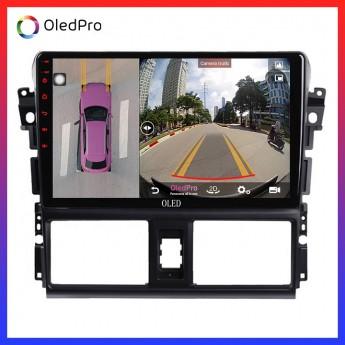 """Màn hình DVD Android tích hợp camera 360 Oled C8s cho xe Toyota Vios - """"Siêu phẩm"""" thời công nghệ 4.0 giúp lái xe an toàn C8s"""