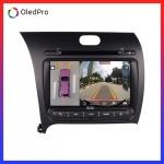 Dvd Android Oled C8S công nghệ mới trên xe kia k3  || Tặng Camera 360 quan sát toàn cảnh_0