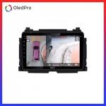 Dvd Android Oled C8S công nghệ mới trên xe Honda HRV || Tặng Camera 360 quan sát toàn cảnh_1