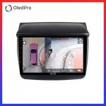 Dvd Android Oled C8S công nghệ mới trên xe Mitsubishi Pajero Sprort 2011-2015 || Tặng Camera 360 quan sát toàn cảnh_0