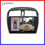 Màn hình DVD Android xe Mitsubishi Attrage Mirage Oledpro X5s tích hợp Camera 360 quan sát toàn cảnh phiên bản 2020 X5s_0