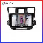 Màn hình DVD Android xe Toyota Highlander 2009-2013 OledPro X5s tích hợp Camera 360 quan sát toàn cảnh phiên bản 2020 X5s_0