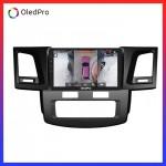 Màn hình DVD Android xe Toyota Fortuner 2010-2015 DHTD OledPro X5s tích hợp Camera 360 quan sát toàn cảnh phiên bản 2020 X5s_0