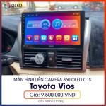 Màn hình liền camera 360 Oled C1s cho Toyota Vios - Người bạn đồng hành đích thực C1s_0