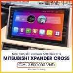 Màn hình liền camera 360 Oled C1s cho Mitsubishi Xpander Cross - Sang trọng, đẳng cấp, giá rẻ C1s_0